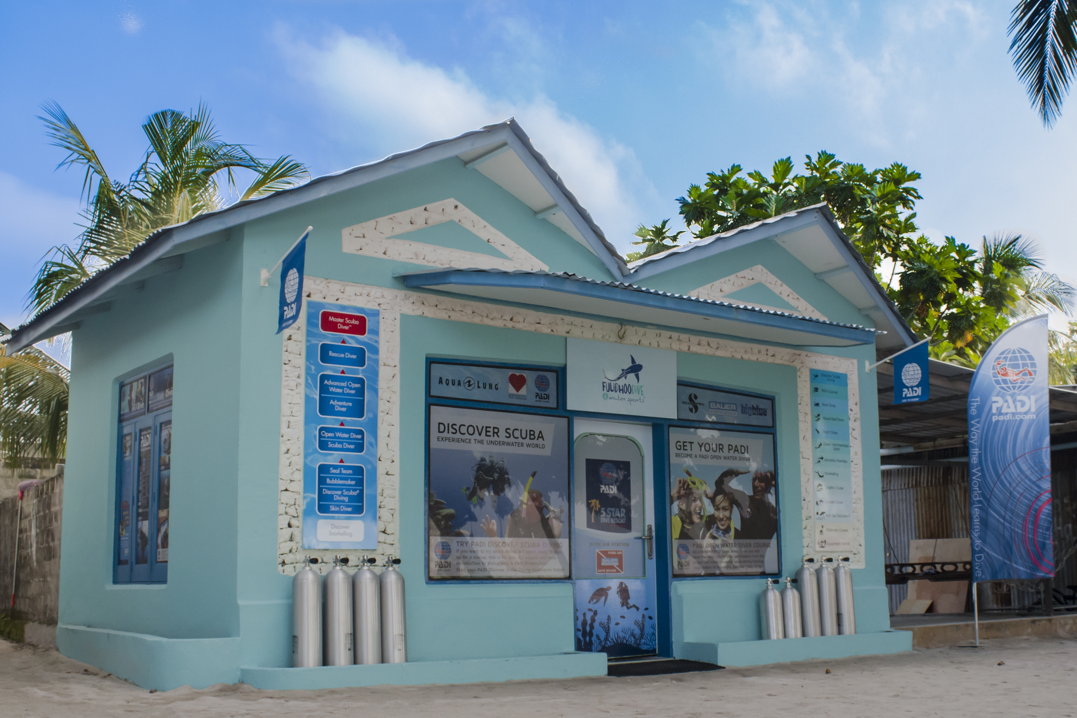 best local island dive centre