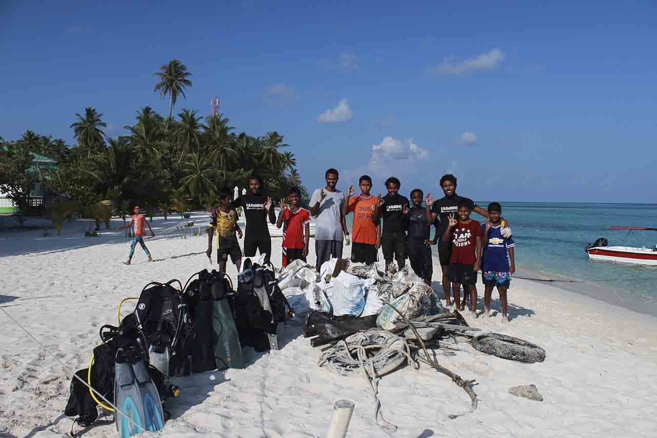 eco divers in Fulidhoo